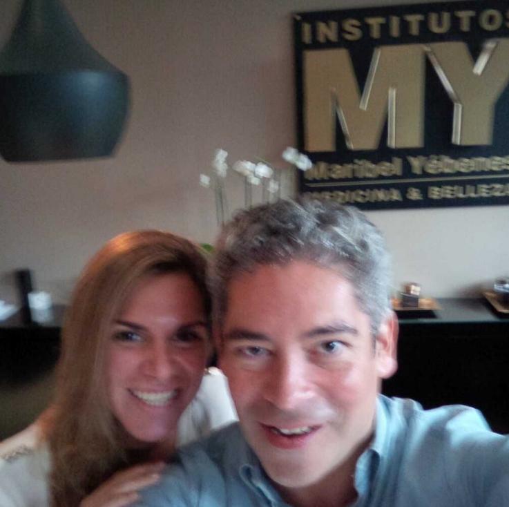 Myriam Yébenes y Boris Izaguirre